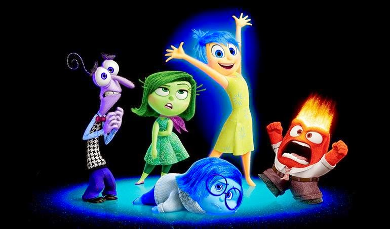 Pixar Inside Out animated movie