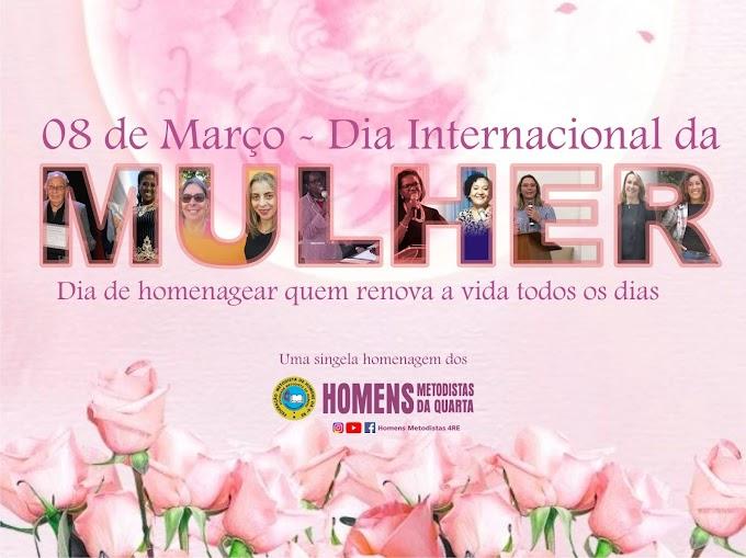 Parabéns a Todas as mulheres do Brasil e do Mundo
