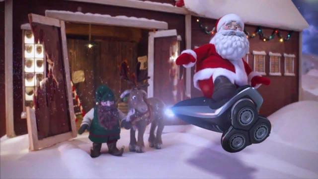 Norelco Christmas commercial animatedfilmreviews.filminspector.com