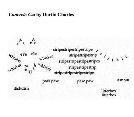 Concrete cat