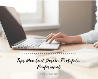 Tips membuat desain portofolio
