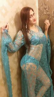 Sheeza Khan in new transparent suite pics