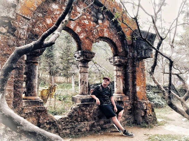 Ta Phin ancient monastery relic