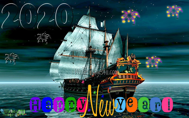 New year 2020 3D Desktop Wallpapers