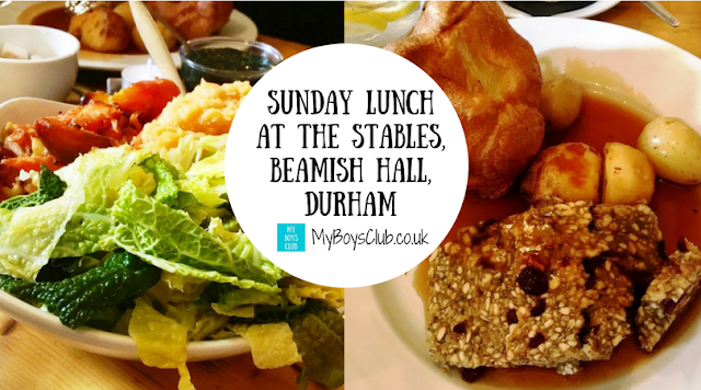 Sunday Lunch at The Stables, Beamish, County Durham - trying out the vegetarian alternative to the traditional meat Sunday Roast.