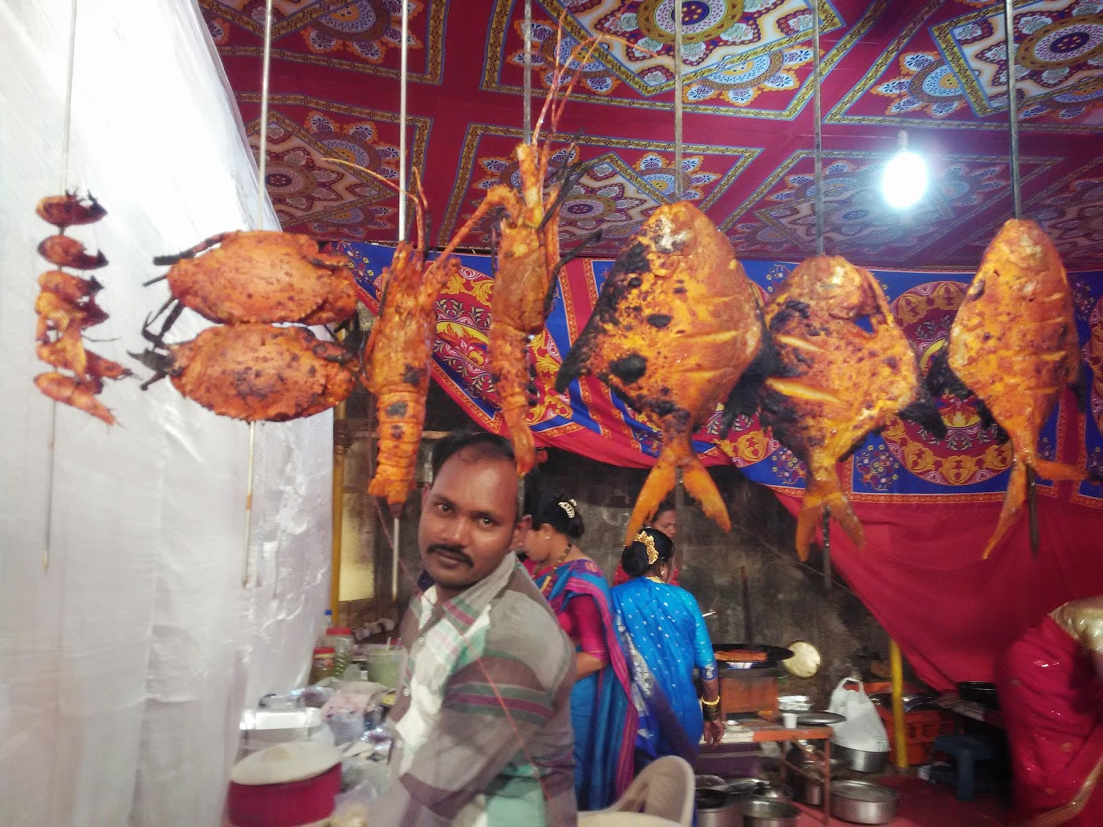 Places Near Mumbai: Versova Koli Sea Food Festival 2015