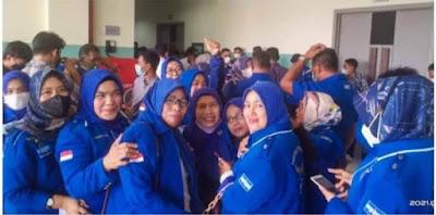 Panitia Musda Ke - V DPD Demokrat Aceh di Tegur Oleh Satgas Covid - 19