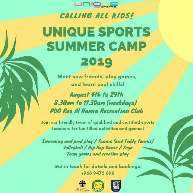 BritSwim Oman Summer Camp 2019