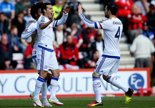 Chelsea - William, Pedro and Fabregas (23/4)