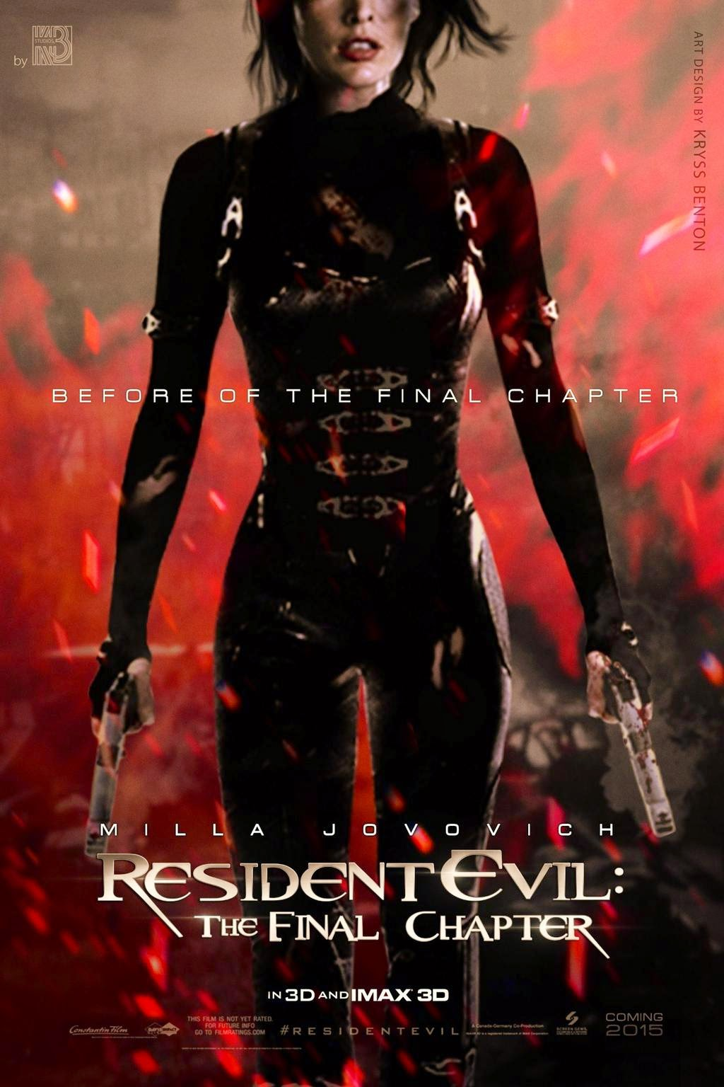 Resident Evil 6 The Final Chapter ผีชีวะ ภาค 6 [HD]