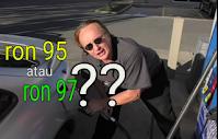 Gambar menunjukkan Scotty kilmer bertanya minyak ron95 atau 97