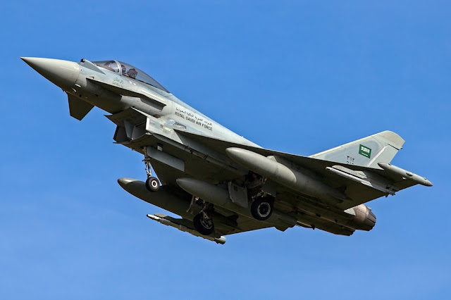 Saudi Eurofighter Typhoon crash