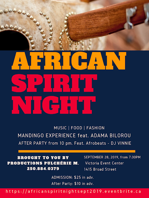 AFRICAN SPIRIT NIGHT