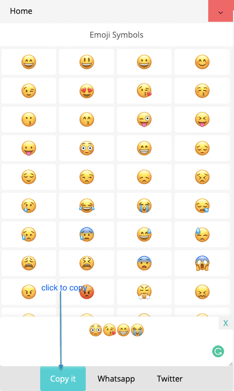How to Copy And Paste Group Of 😓 Emojis, ✚ Text Symbols?