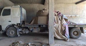 """تلعفر :صور العثور على مجمع داعش لـ """"تحوير"""" العجلات الى دبابات !"""