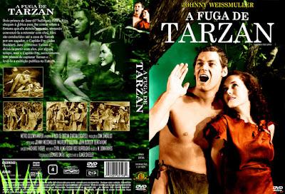 Carátula dvd: La fuga de Tarzán / Tarzan Escapes