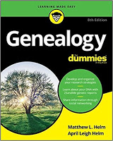 Book cover for Genealogy for Dummies