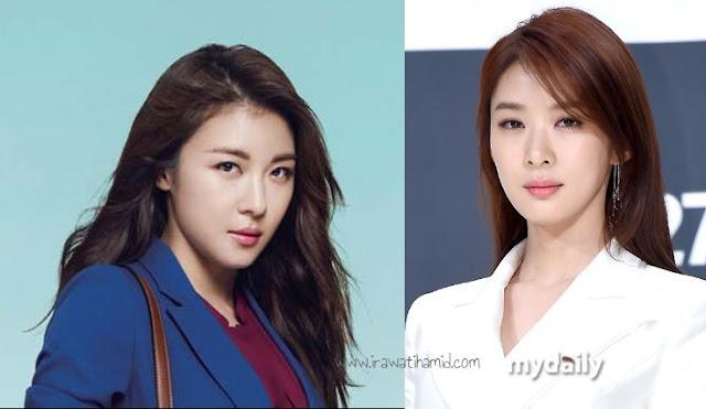 aktris korea berwajah mirip