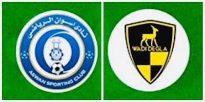 مباراة اسوان ووادي دجلة كورة توادي مباشر 29-1-2021 والقنوات الناقلة في الدوري المصري