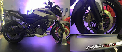 2017 Bajaj Pulsar 200NS wallpaper