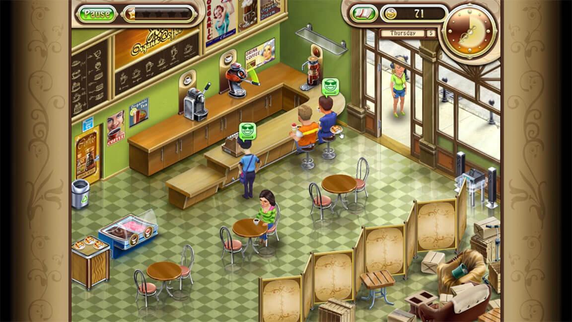 تحميل لعبة ادارة المقهي