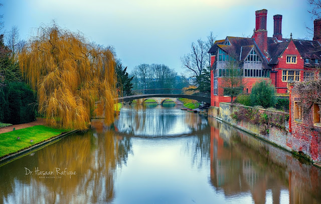 Photo: Bridge over a tributary of River Cam