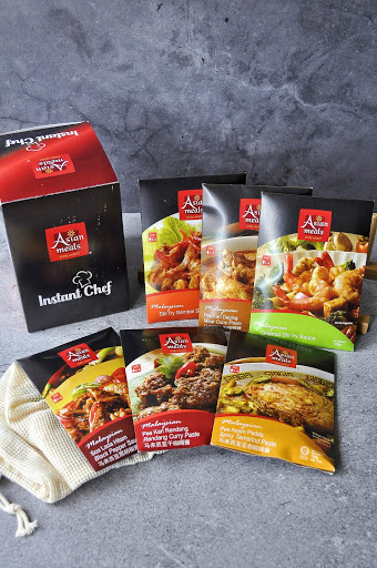 dapatkan segera INSTANT PASTE Asian Meals