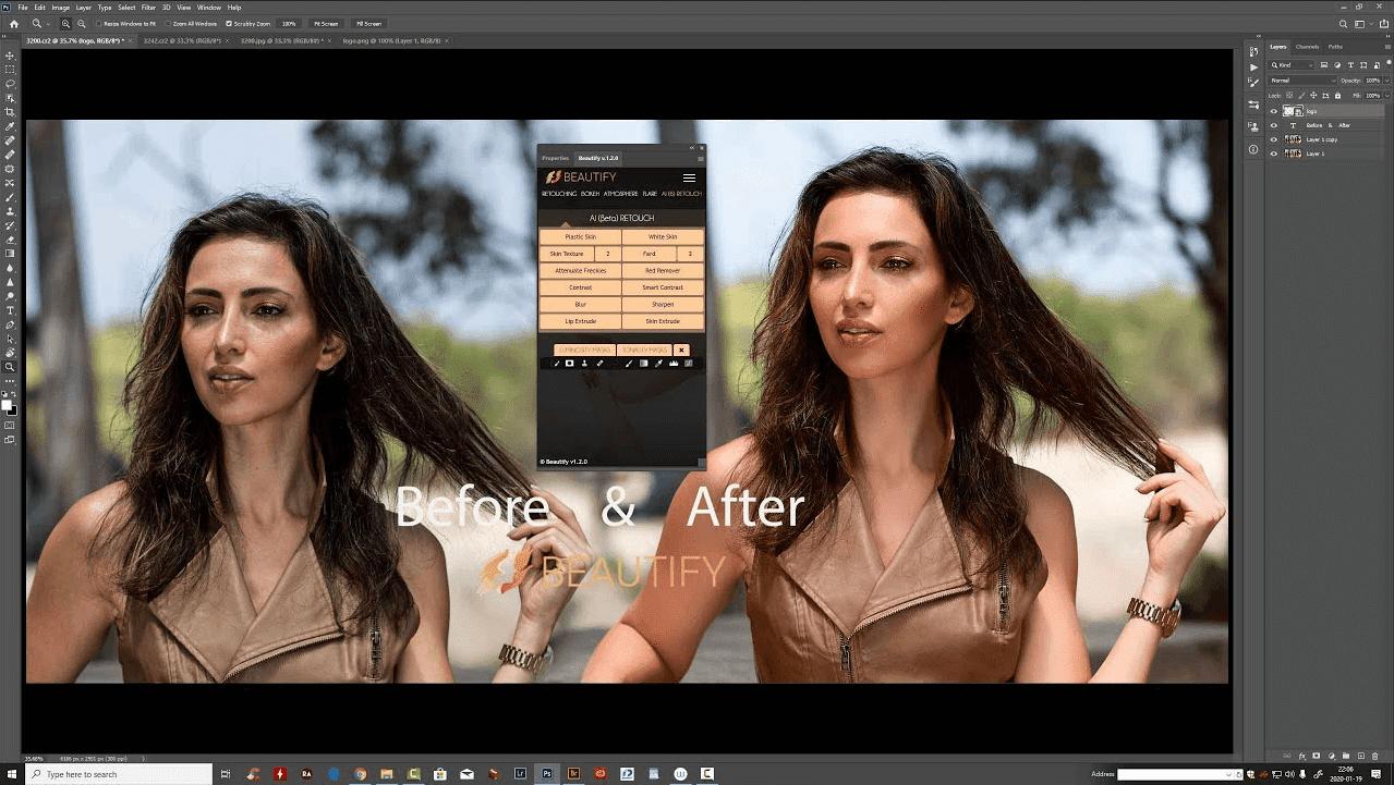 Download Beautify Extension atau Plugin untuk Adobe Photoshop