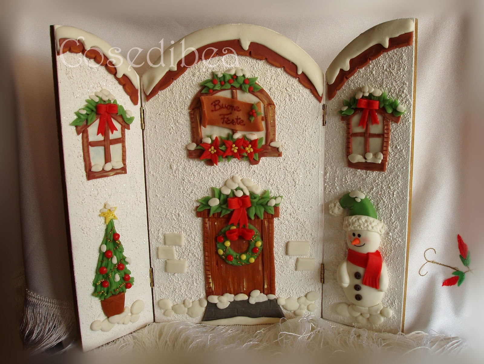 Conosciuto cosedibea: Lavori per i mercatini di Natale HG25