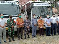 Bus DAMRI Rute Teluk Dalam - Gunungsitoli PP,  Segera Beroperasi