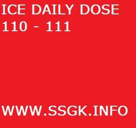 ICE DAILY DOSE 110 - 111
