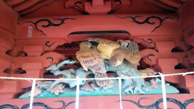 富士浅間社 彫刻