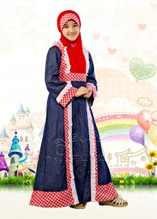 Gambar Baju Muslim Anak Perempuan Terbaru