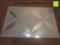 Silber und Gold: Original FLASH TATTOOS - Die beliebten Gold Tattoos der Stars aus USA - Temporäre Tattoos (Dakota)