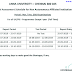 Anna University Internal Assessment Schedule 2019 UG PG