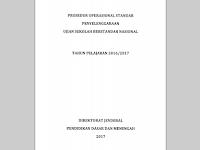 Download POS (Prosedur Operasional Standar) USBN SMPdan SMA 2017