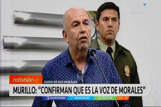 Confirman que es la voz de Morales, debe ser procesado por terrorismo