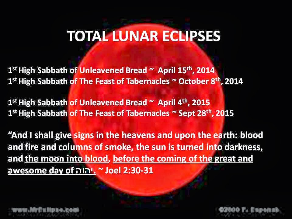 NASA Blood Moons 2014 2015 - Pics about space