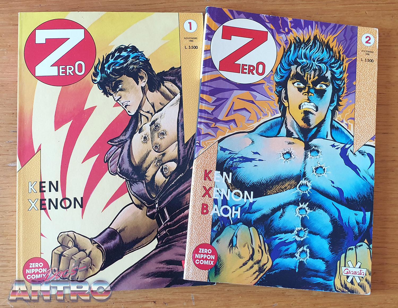 Zero Granata Press 1990 Kenshiro