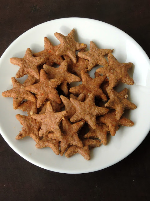 Spiced Ragi Biscuits, Ragi Biscuits
