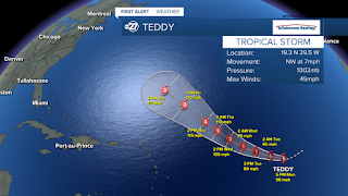 Tropical Storm Teddy