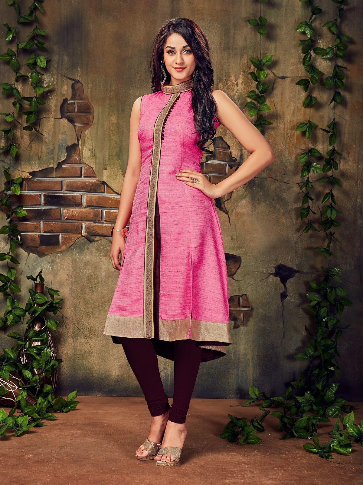 Catalog No.372 – Comfortable Party Wear Designer Kurti Buy Online