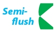 Semi-flush