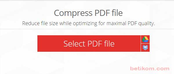 Compress file pdf online free
