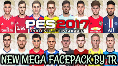 PES 2017 New Megafacepack +680 Faces