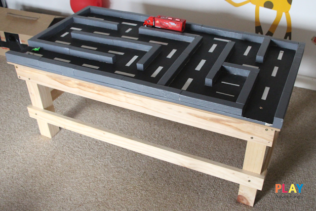 DIY Car Maze Table