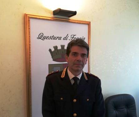 All'Anticrimine della Questura di Foggia  c'è un nuovo capo, è il dott. Antonio Tafaro