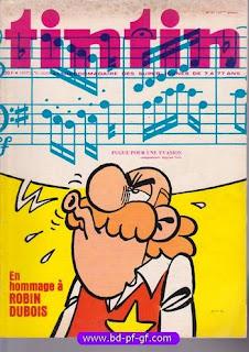 Tintin numéro 31, 1976, Robin Dubois