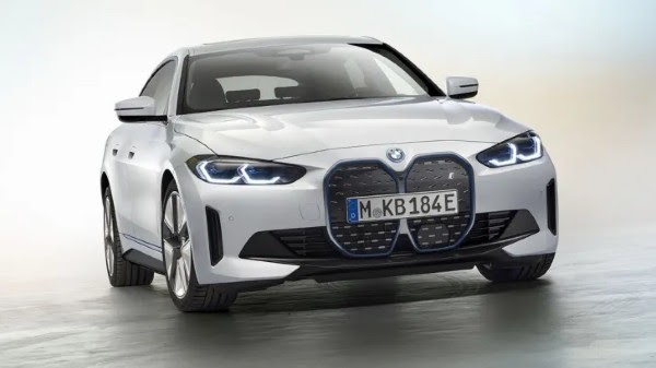 2022 bmw i4 has been unveiled with pure-electric four-door