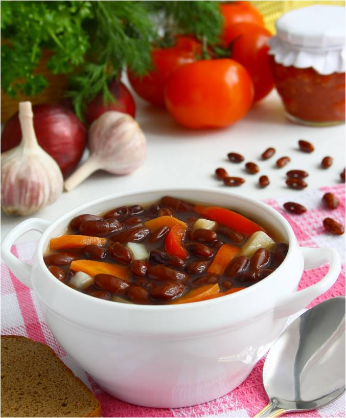 Spicy Red Bean Stew